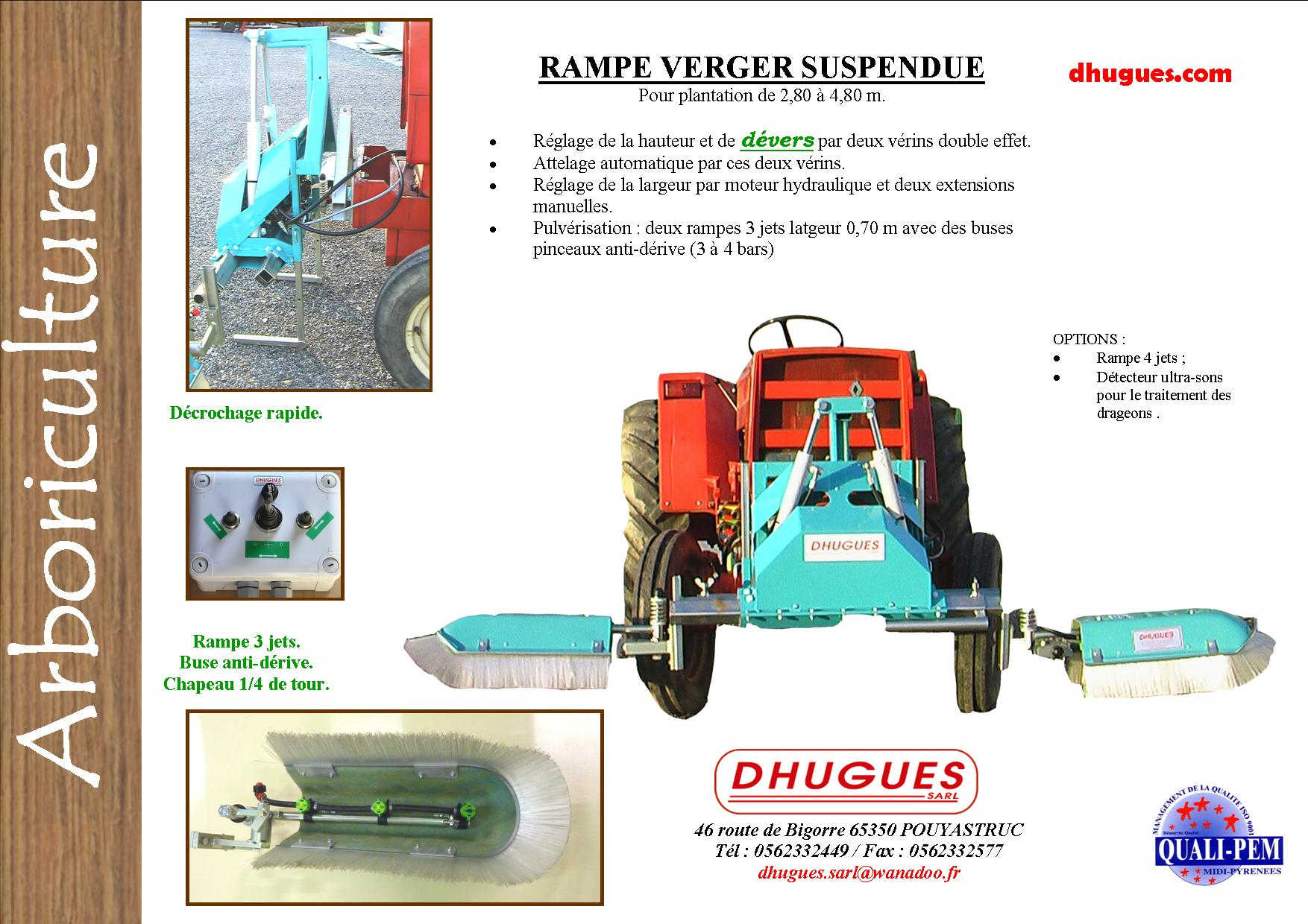 brochure rampe verger suspendue